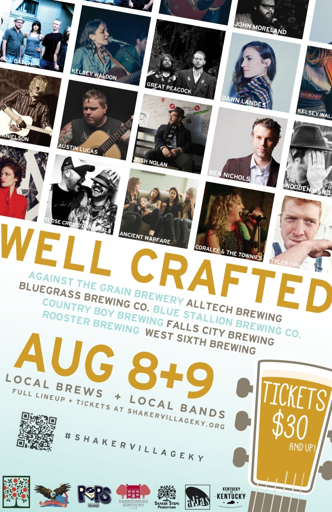 Bear Medicine will be performing at the Well Crafted Festival at Shaker Village on August 9 @ 2:45PM